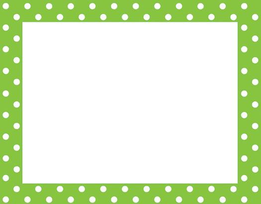 Download clip art on. Free polka dot border clipart
