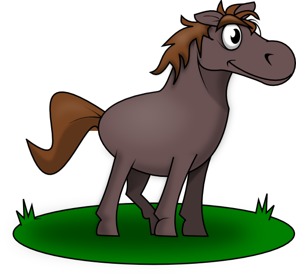 Download best on . Free pony clipart