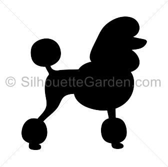 Free poodle silhouette clipart. Pin by muse printables