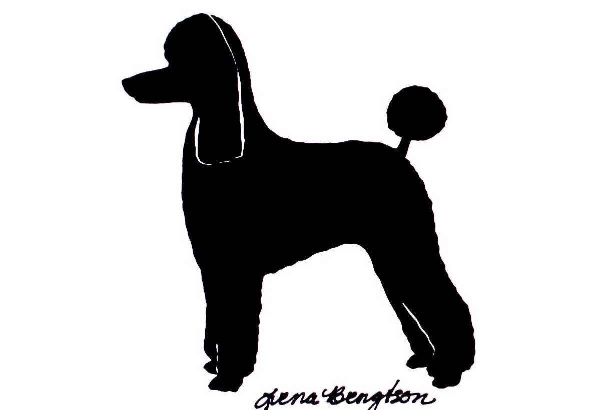 Free poodle silhouette clipart. Download best on clipartmag