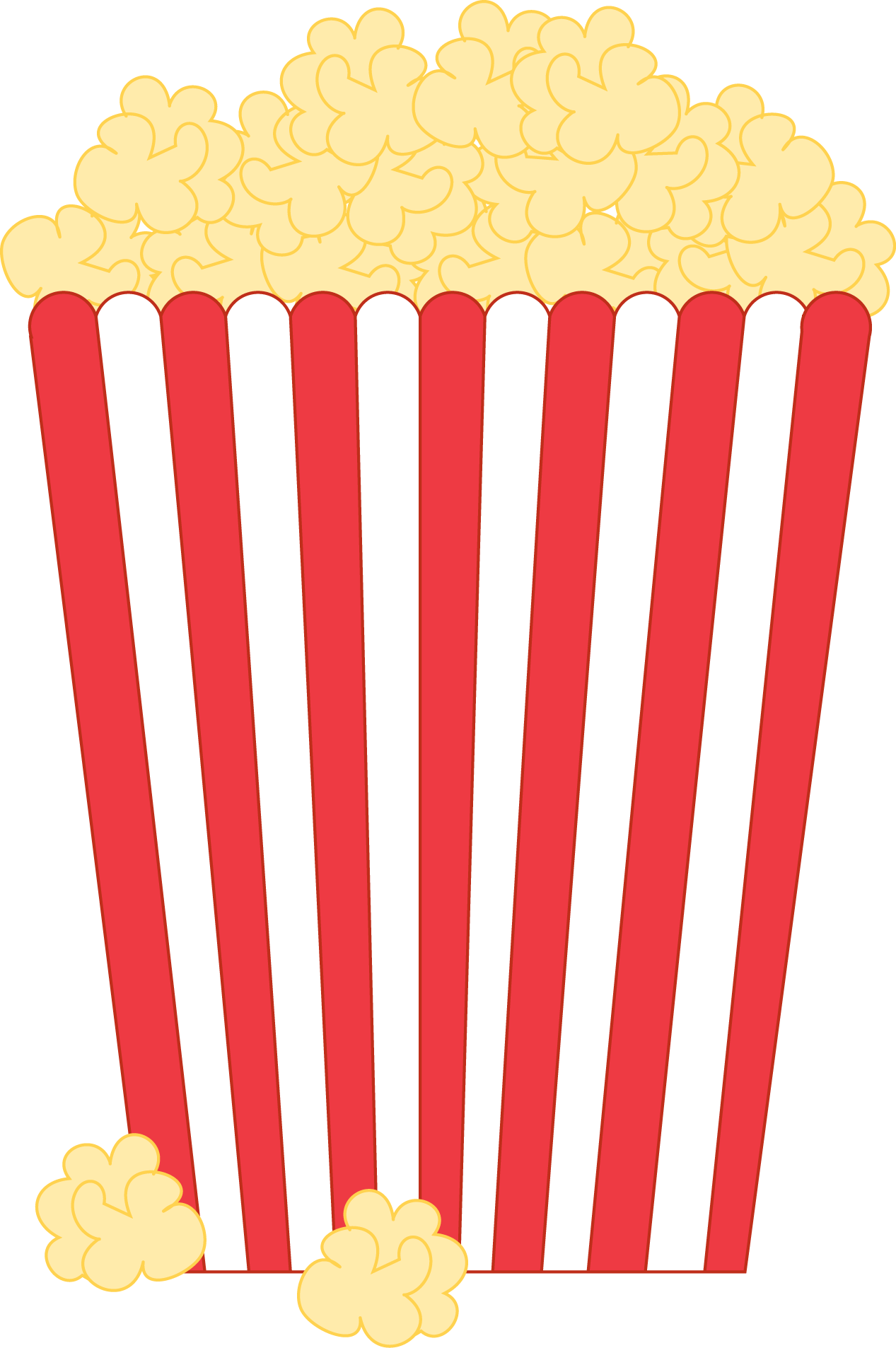 Popcorn images clipart graphic royalty free Free Popcorn Clipart & Look At Clip Art Images - ClipartLook graphic royalty free
