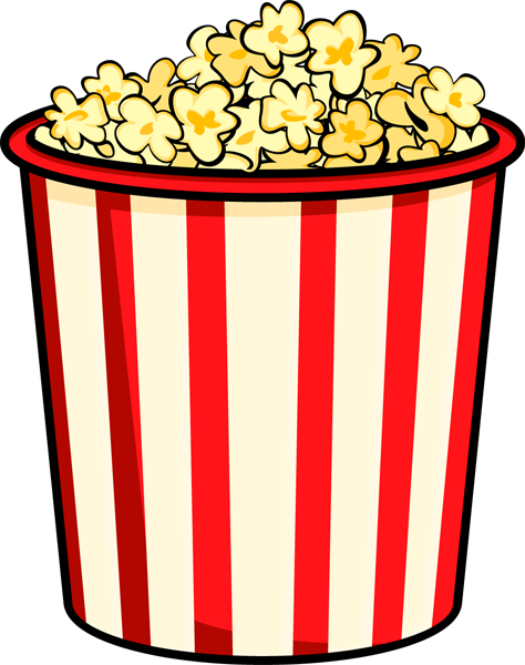 Valentines day popcorn clipart vector library download Free Popcorn Clipart & Look At Clip Art Images - ClipartLook vector library download