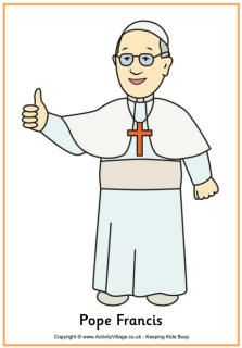Free pope clipart visit the usa svg free library This website has neat Pope Francis activities for kids | Faith ... svg free library