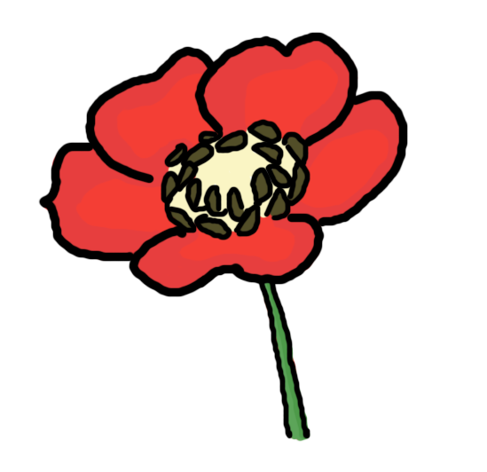 Free poppy flower clipart clip royalty free Free Poppy Cliparts, Download Free Clip Art, Free Clip Art on ... clip royalty free