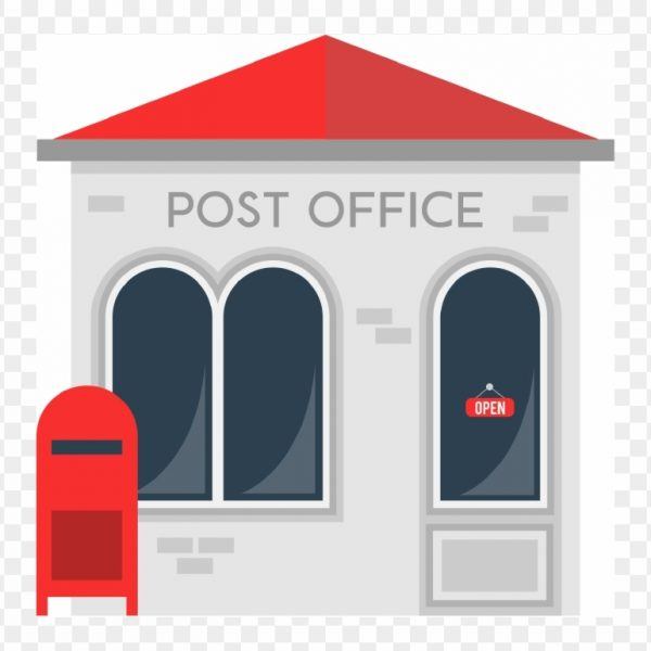 Free post office clipart. Building transparent png