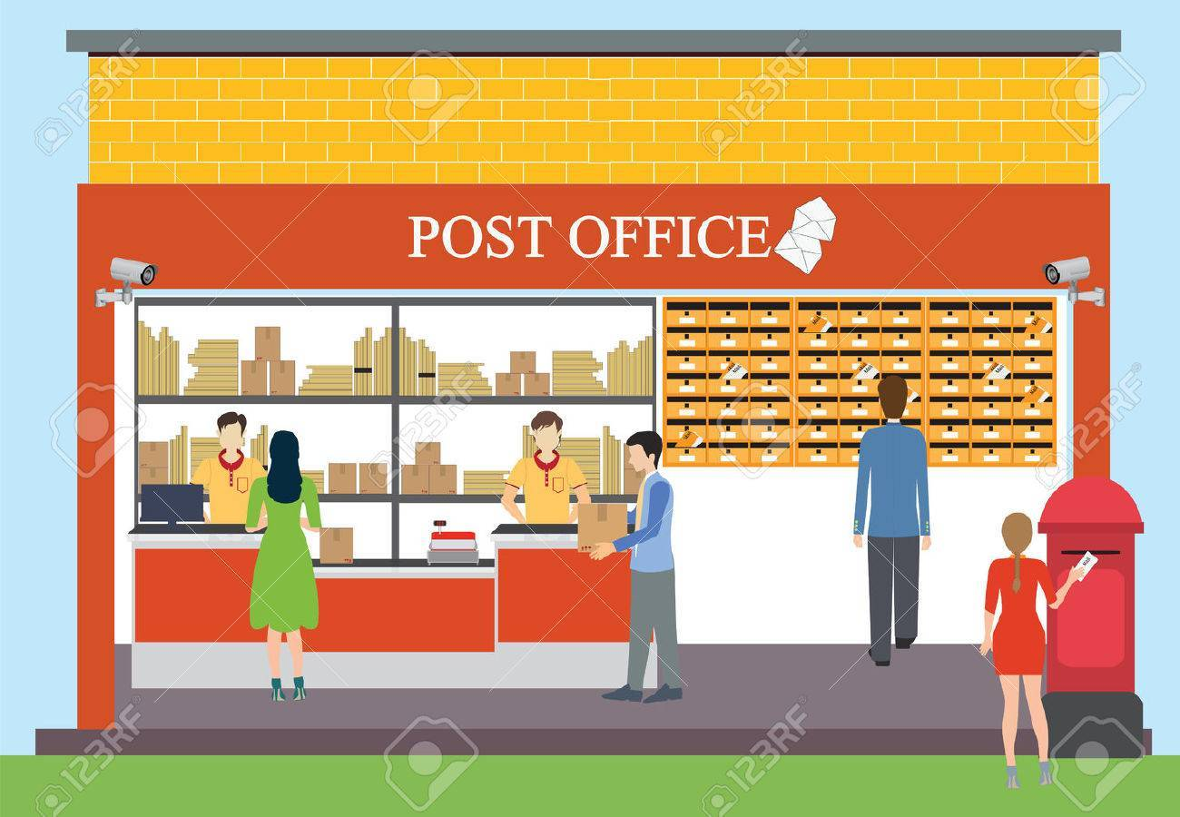 Free post office clipart. Portal