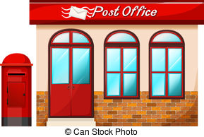 Vector royalty clip art. Free post office clipart
