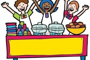 Free potluck clipart. Station