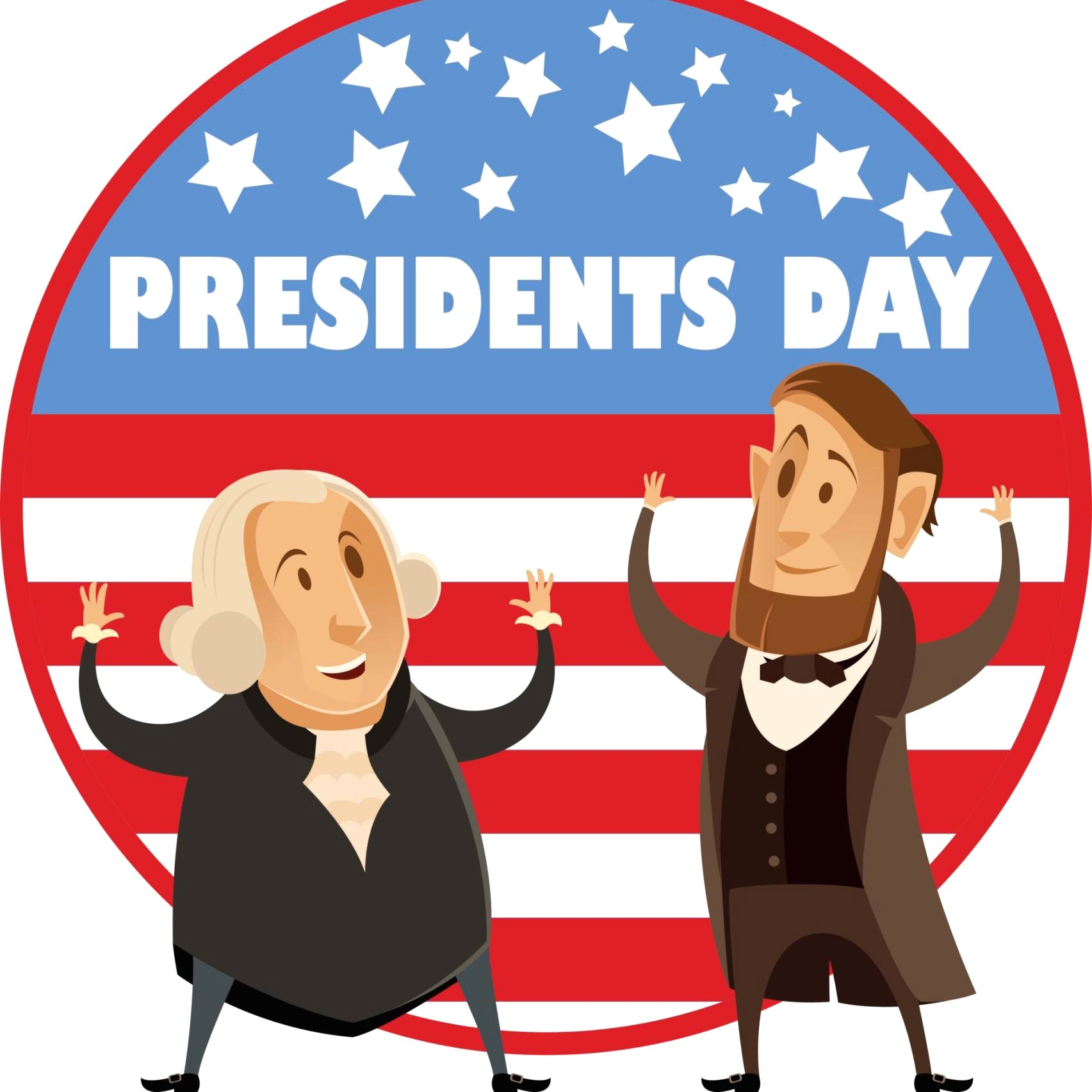 Free presidents day clipart picture black and white library Free Presidents Day Clipart (92+ images in Collection) Page 1 picture black and white library