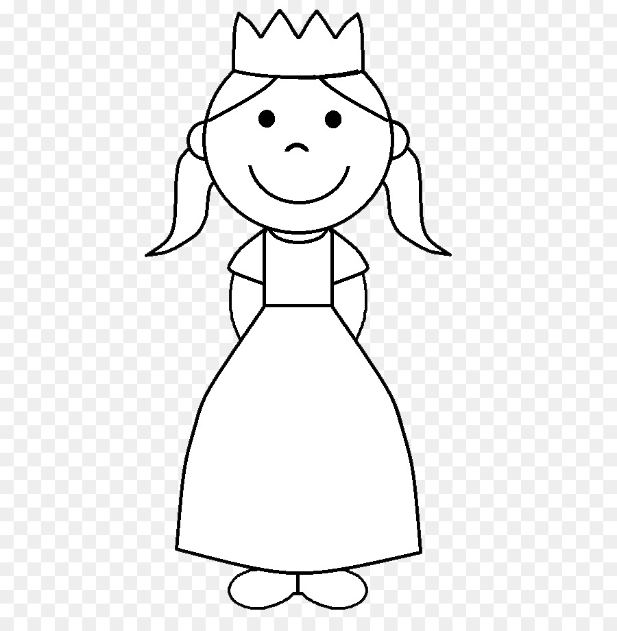 Free princess clipart images black and white picture free Princess Png Black And White & Free Princess Black And White.png ... picture free