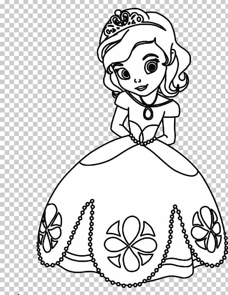 Free princess clipart images black and white transparent stock Disney Princess Cinderella Rapunzel Ariel Tiana PNG, Clipart, Arm ... transparent stock