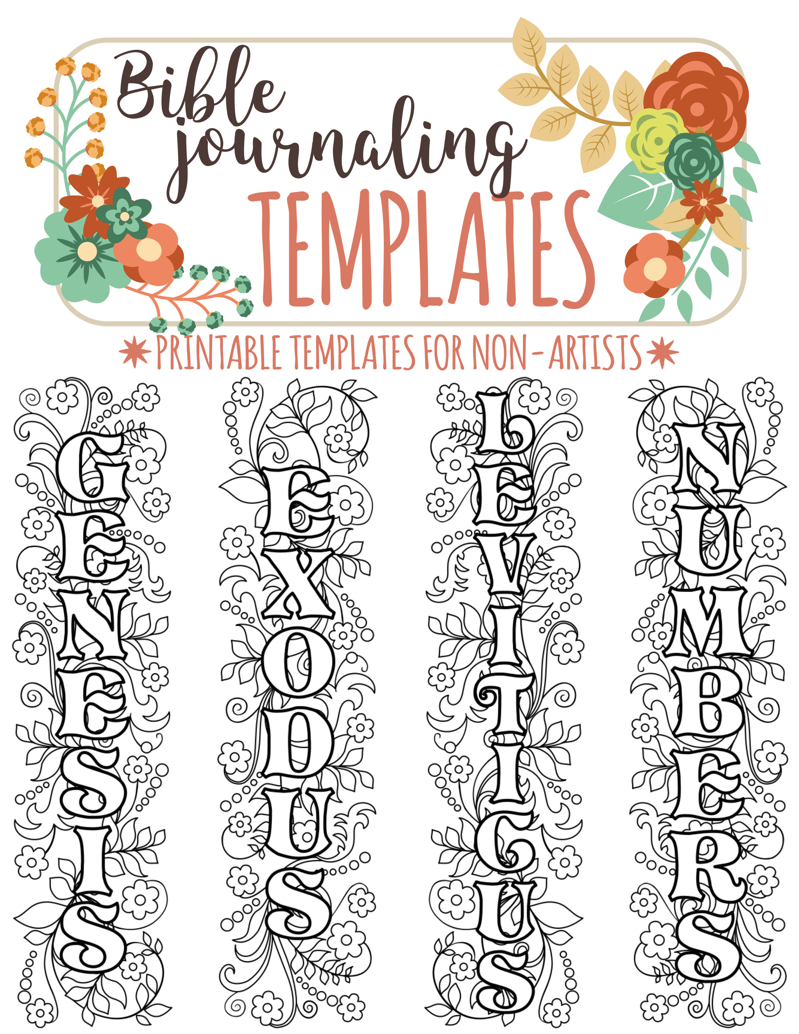 Free printable bible clipart clipart black and white ♥ 56 text divider clip art, bible journaling verse art printable ... clipart black and white
