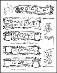 Free printable bible clipart png black and white stock 56 PRINTABLE TEMPLATES for bible journaling verse art, illustrated ... png black and white stock