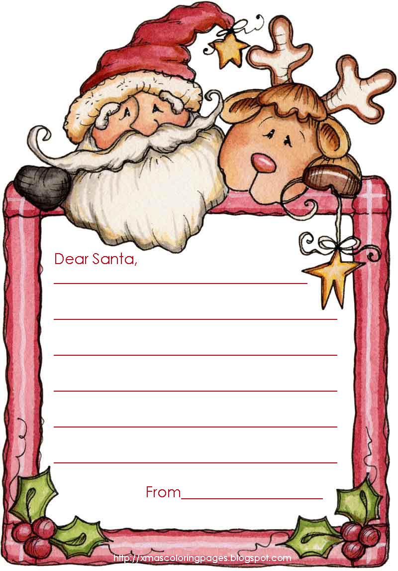 Free printable black and white dear santa letter clipart banner transparent Free Santa Letter Cliparts, Download Free Clip Art, Free Clip Art on ... banner transparent