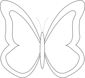 Free printable butterfly clipart clip library Butterfly outline printable free coloring pages on masivy world 2 ... clip library