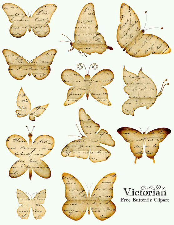 Free printable butterfly clipart image 1000+ images about Printables Butterflies on Pinterest ... image