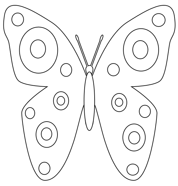 Free printable butterfly clipart clip royalty free stock Free printable butterfly clipart - ClipartFox clip royalty free stock