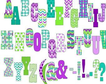 Free printable clip art alphabet letters vector download Letters clip art printable - ClipartFest vector download