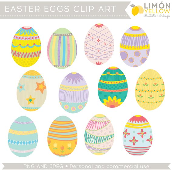 Free printable clipart for easter black and white Easter Clipart, Easter Eggs Clip Art (Royalty Free) in 2019 ... black and white