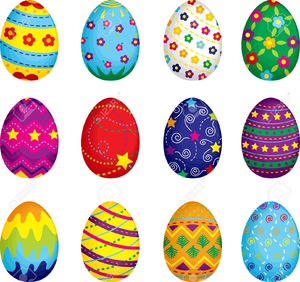 Free printable clipart for easter banner black and white library Easter Egg Printable Clipart | Free Images at Clker.com - vector ... banner black and white library