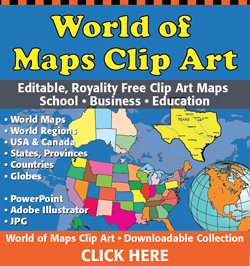 Free printable clipart for teachers us map clip art black and white Royalty Free US and World Map • Printable, Clip Art Maps You Can ... clip art black and white