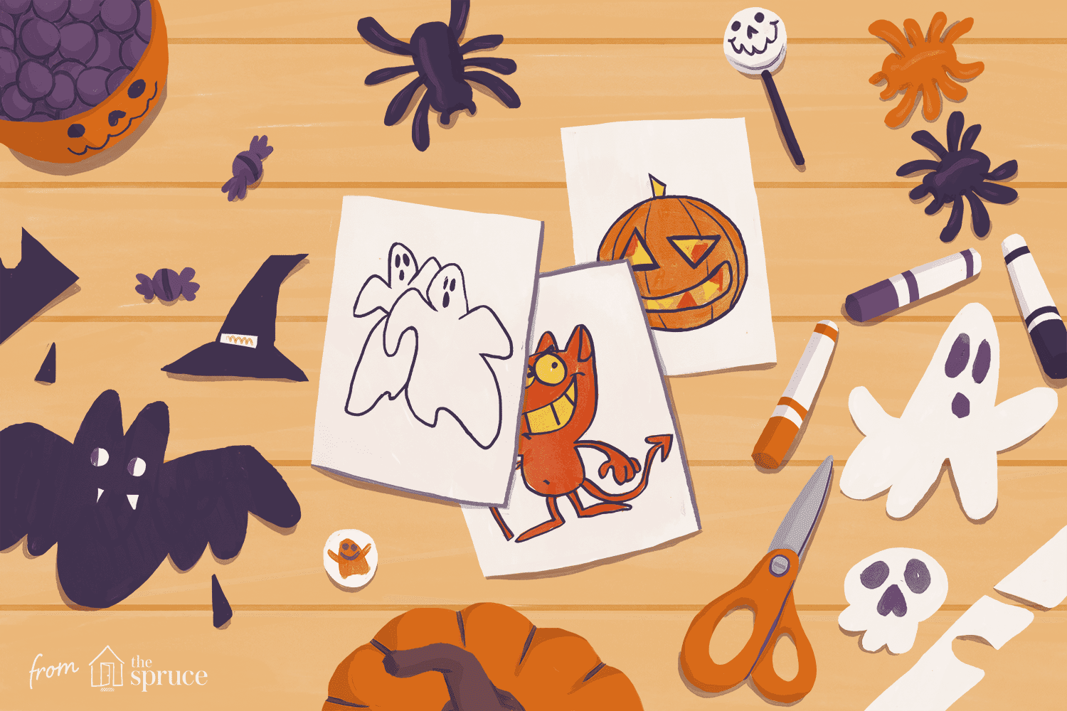 Free printable clipart images for crafting svg free Free Halloween Clip Art for All of Your Projects svg free