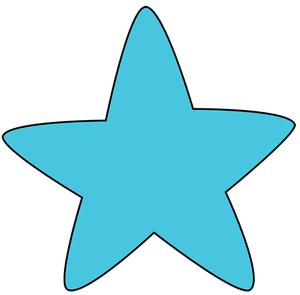 Star clip art panda. Free printable clipart stars