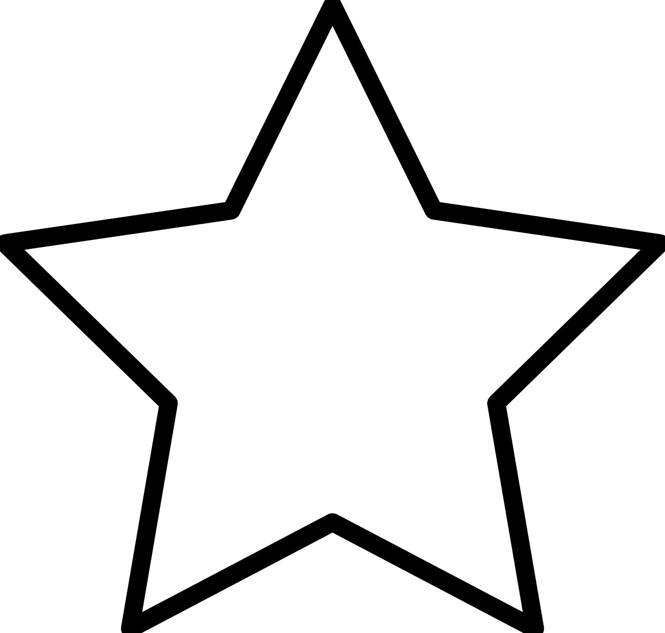 Free printable clipart stars. Star coloring pages for