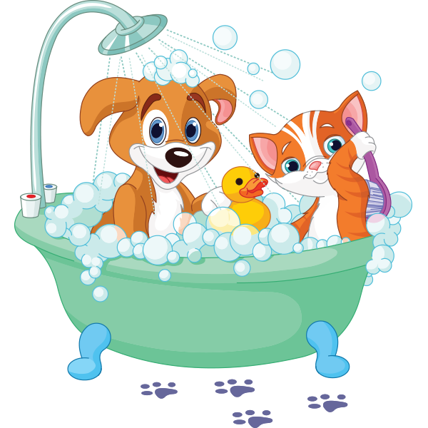 Time animal icons cute. Free printable dog bubble bath clipart silhouette