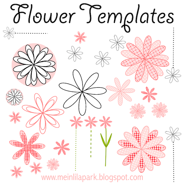Free printable flowers pictures png freeuse stock Free Flower Templates. flower lei printable templates amp coloring ... png freeuse stock