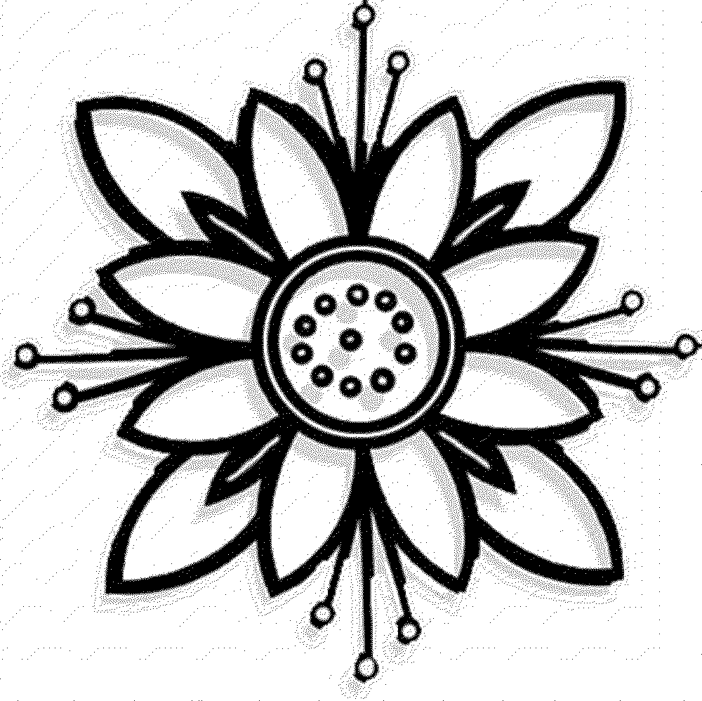 Free printable flowers pictures image library download flower coloring page flower coloring pages simple flower coloring ... image library download