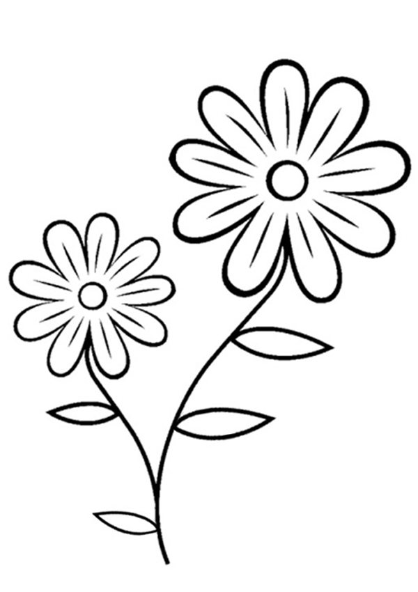 Free printable flowers pictures freeuse stock Coloring Pages Flowers Printable : Pics Flower Coloring Page. Kids ... freeuse stock