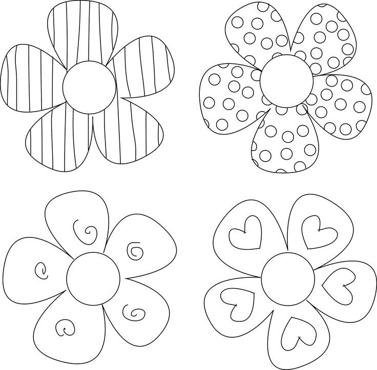 Free printable flowers pictures jpg transparent 17 Best ideas about Flower Template on Pinterest | Felt flowers ... jpg transparent