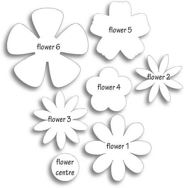 Free printable flowers pictures vector black and white download 17 Best ideas about Flower Template on Pinterest | Felt flowers ... vector black and white download