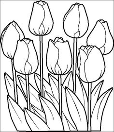 Free printable flowers pictures svg royalty free stock flower Page Printable Coloring Sheets | Free printable flowers ... svg royalty free stock