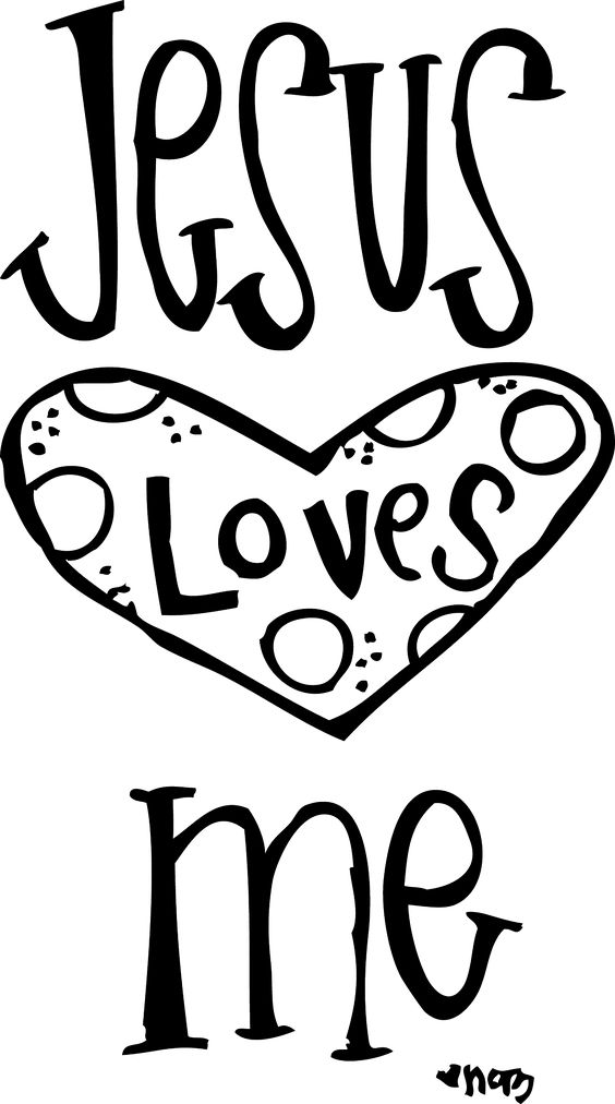 Free printable jesus clipart graphic transparent God loves you printable coloring | jesus coloring free cliparts ... graphic transparent