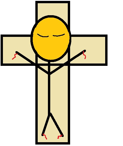Free printable jesus clipart banner stock Free printable jesus on the cross clipart - ClipartFox banner stock