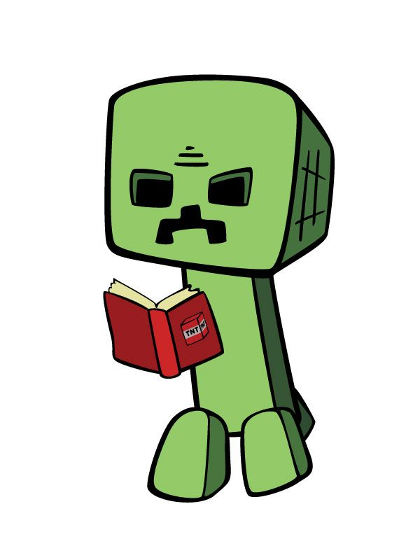 Free printable minecraft clipart clip art royalty free stock Ender man reading a book! #enderman #reading #book #free ... clip art royalty free stock