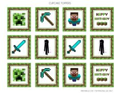 Free printable minecraft clipart image library download Printable minecraft clipart - ClipartFest image library download
