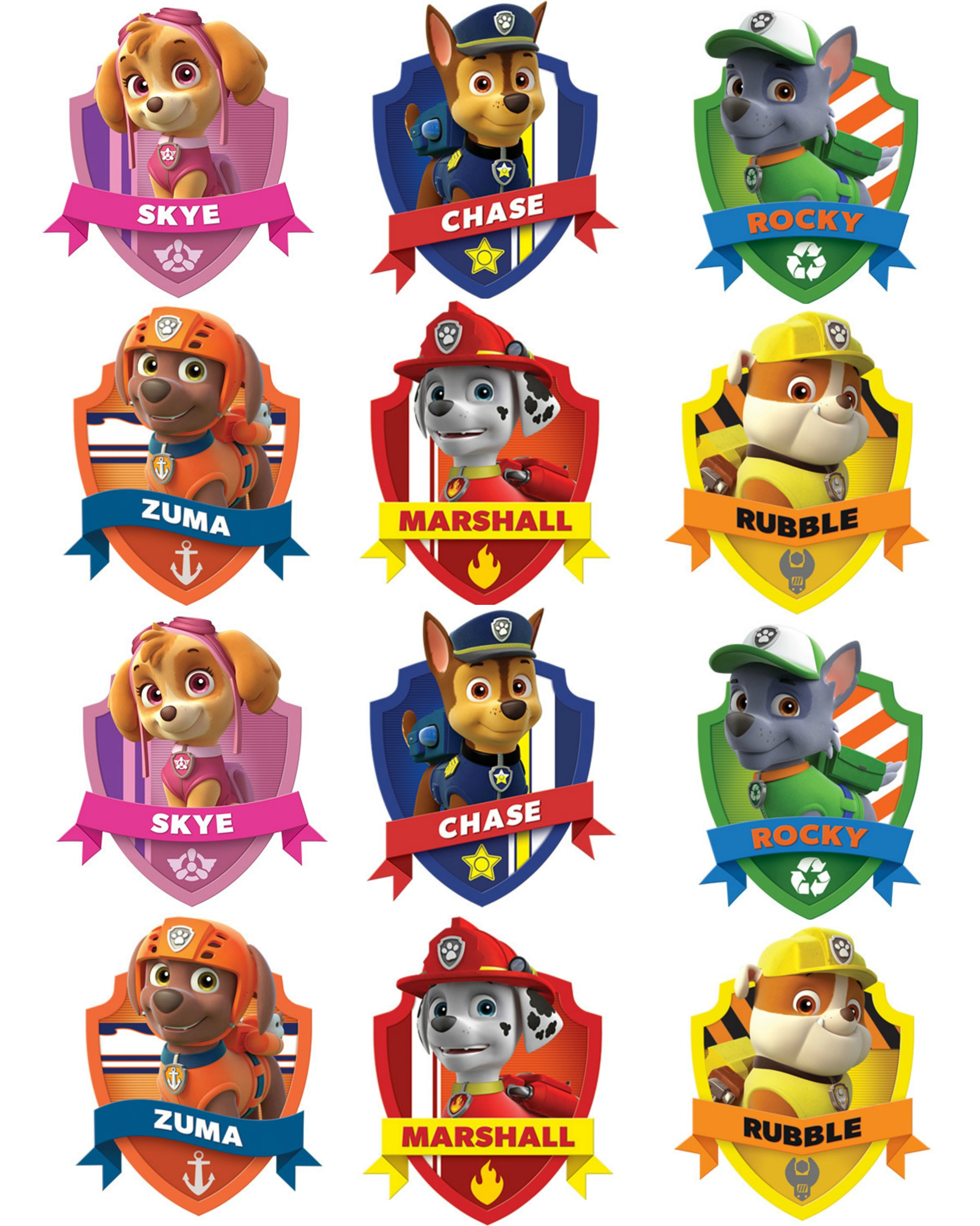 Free printable paw patrol clipart banner stock Free paw patrol clipart - ClipartFest banner stock