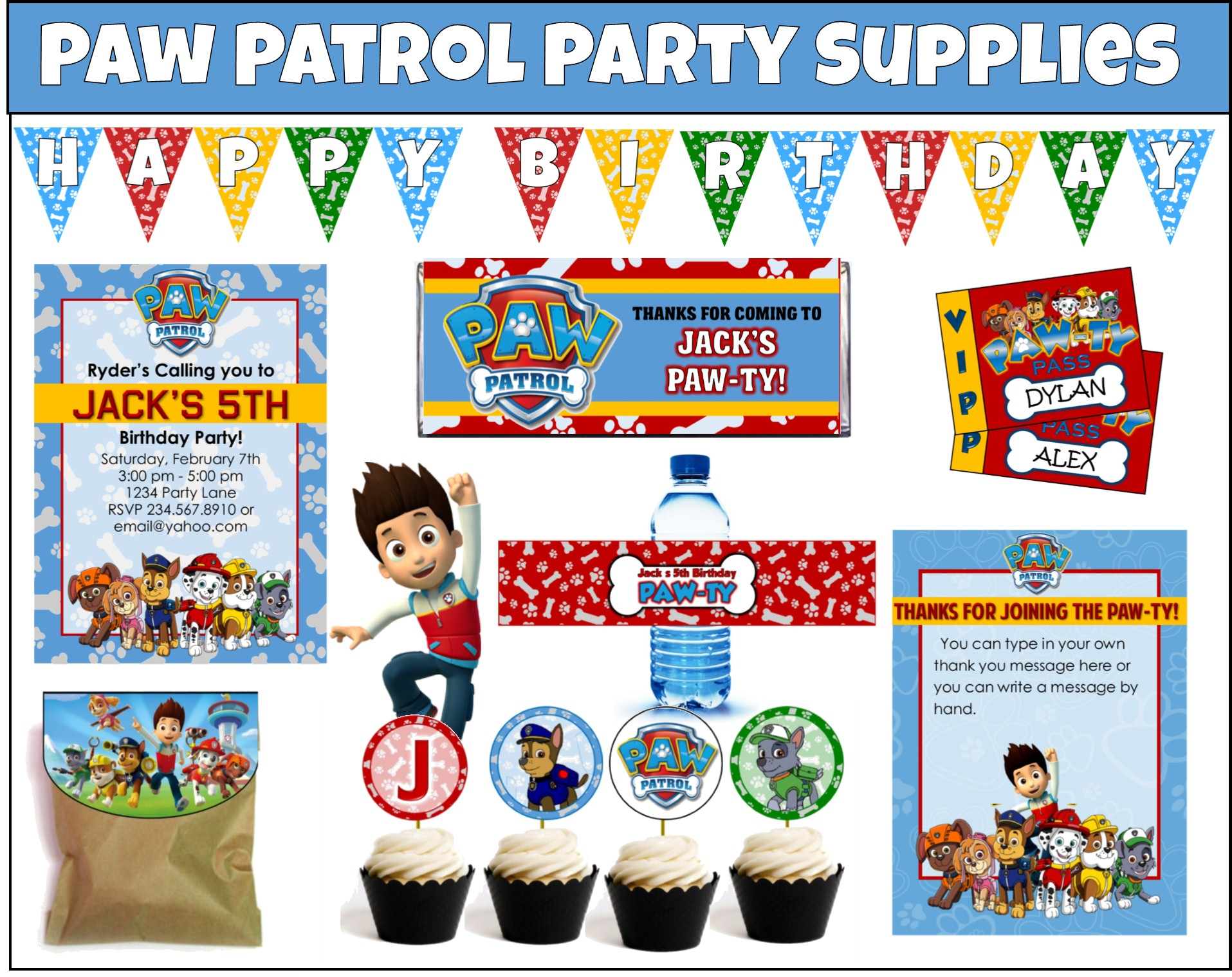Free printable paw patrol clipart clipart library library 17 Best images about Paw Patrol Party on Pinterest clipart library library