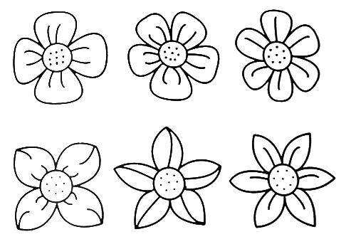 Free printable pictures of flowers image royalty free download Top 25 ideas about Flowers on Pinterest | Coloring, Coloring books ... image royalty free download
