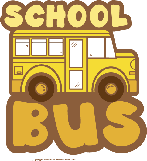 Free printable school bus clipart clip royalty free library Free School Bus Clipart clip royalty free library