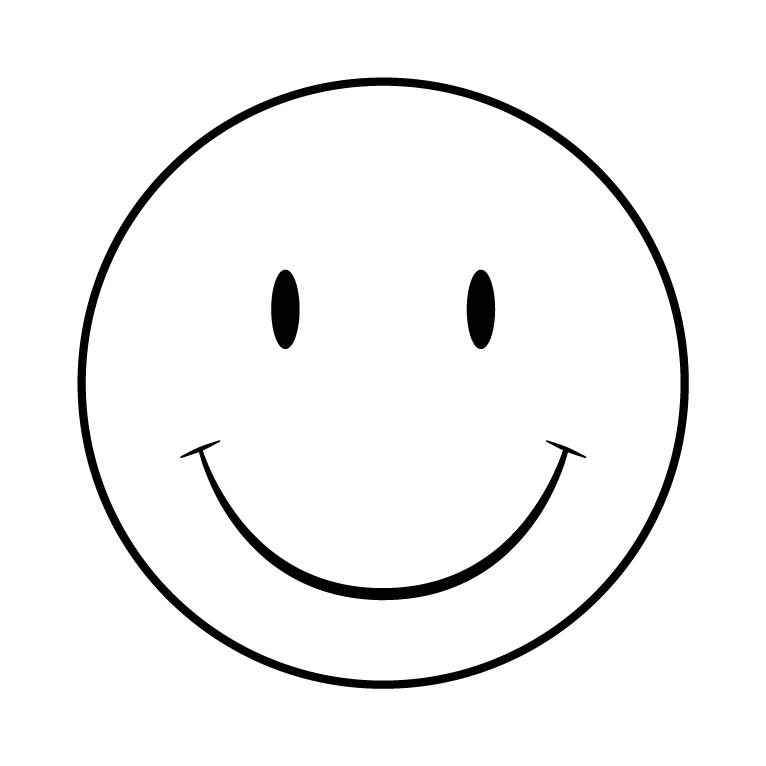 Say cheese kid face black and white clipart picture stock Black and White Printable Smiley Faces | writing ideas | Face ... picture stock