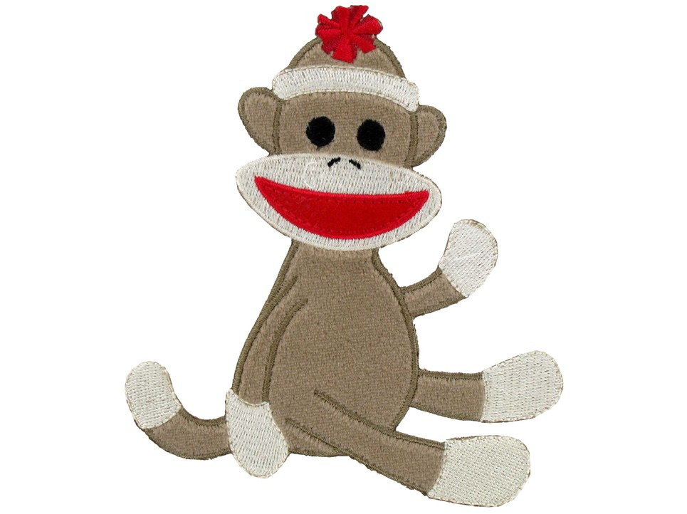Free sock monkey clipart clipart library stock Sock Monkey Clip Art & Look At Clip Art Images - ClipartLook clipart library stock