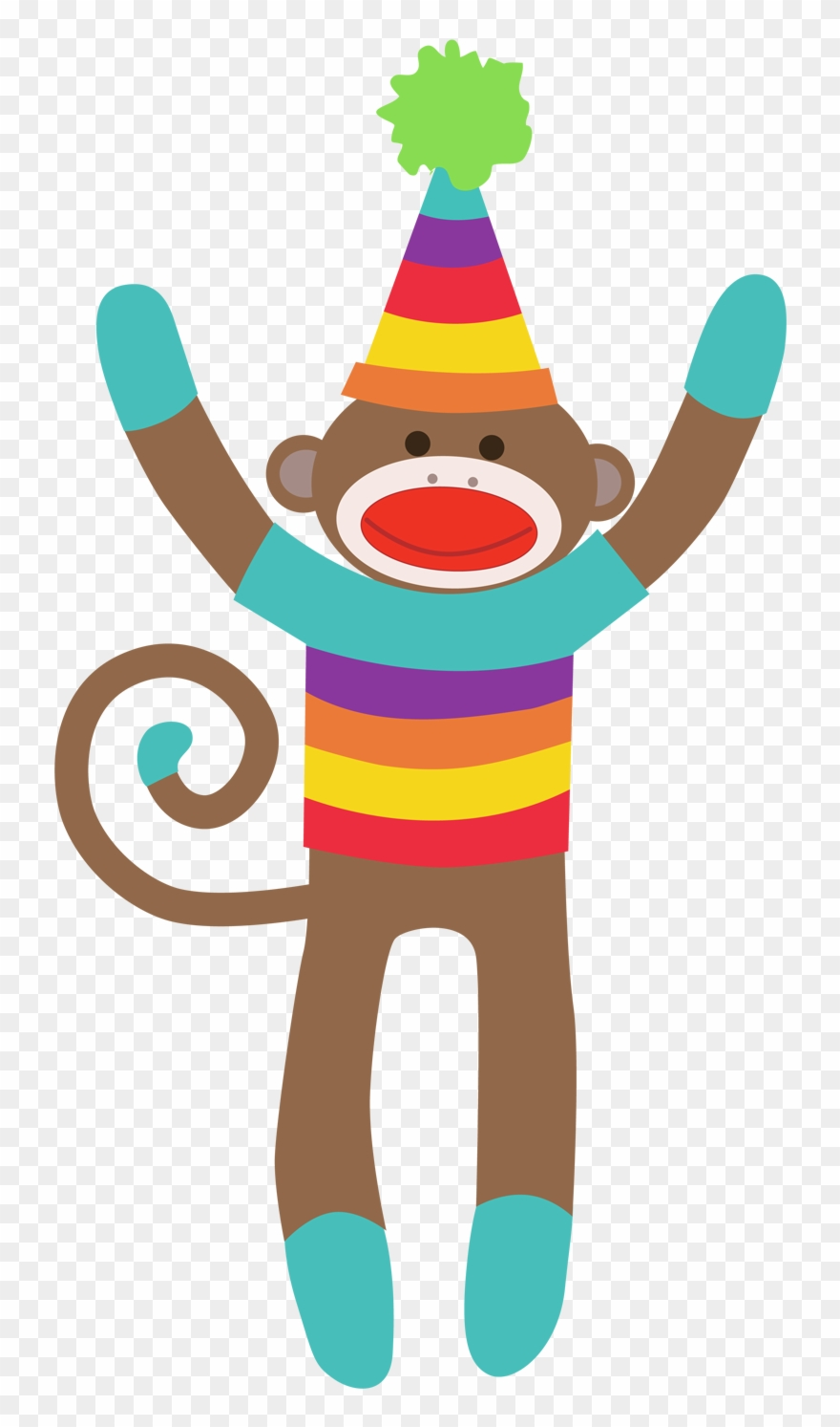 Free sock monkey clipart image freeuse stock Sock Monkey Clipart Free Download Clip Art On - Colorful Sock Monkey ... image freeuse stock
