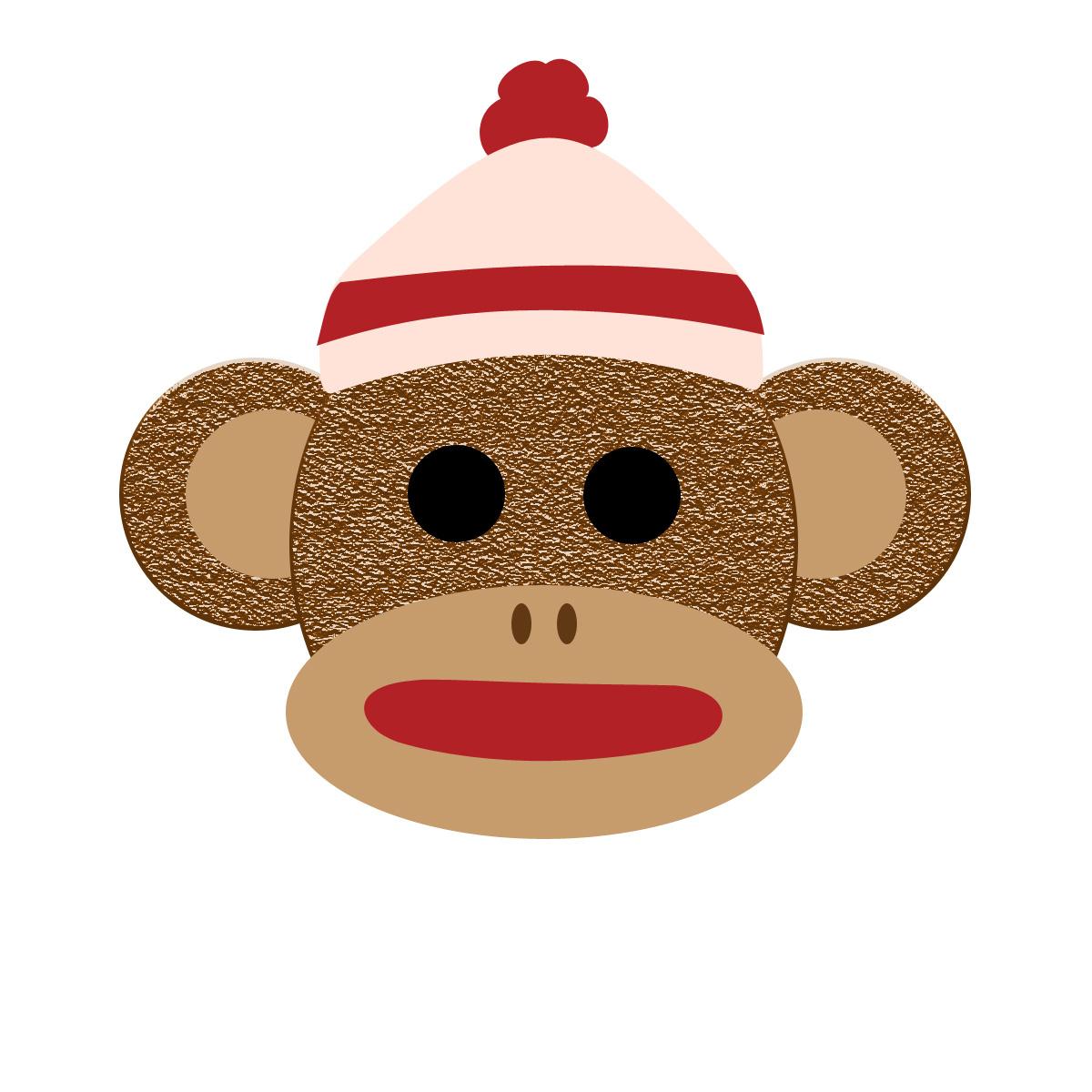 Free printable sock monkey clipart banner stock Free Printable Sock Monkey Pictures | Free Printable Download banner stock