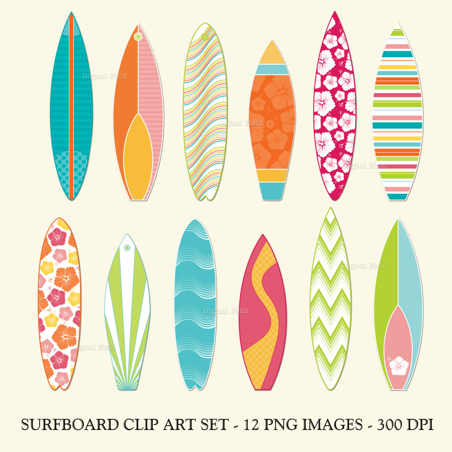 Free printable surfboard clipart svg transparent Surfboard clipart | Etsy svg transparent