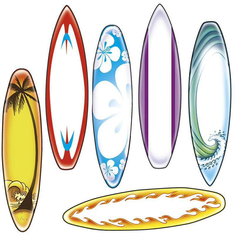 Free printable surfboard clipart clip art freeuse Surfboard Coloring Page - Coloring Pages & Books clip art freeuse
