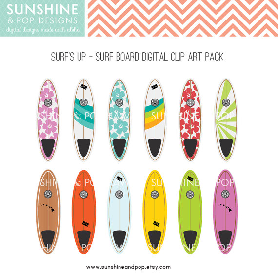 Free printable surfboard clipart vector black and white library 78 Best images about Quarto praia on Pinterest | Surf, Clip art ... vector black and white library